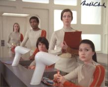Space 1999. 8x10 TV Science fiction series photo signed by actress Melita Clarke. All autographs