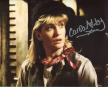 Allo Allo comedy 8x10 photo signed by actress Carole Ashby. All autographs come with a Certificate