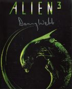 Alien 3 science fiction horror movie photo signed by actor Danny Webb. All autographs come with a