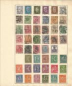German stamp collection 6 loose album leaves dating from 1815 to 1932 some rare. We combine