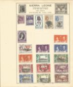 Sierra Leone stamp collection 1 loose album sleeve 19 stamps. We combine postage on multiple winning