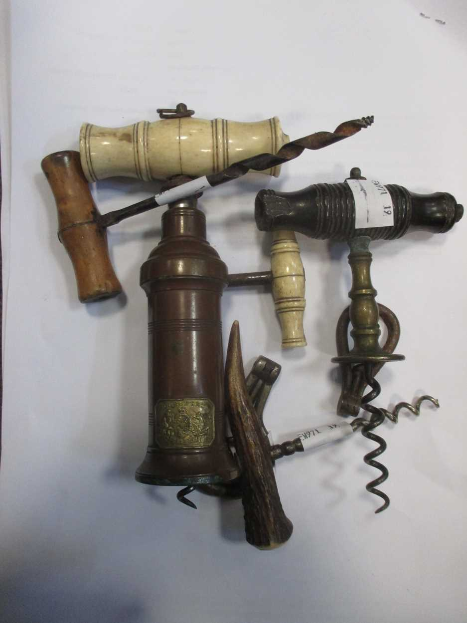 A King's pattern corkscrew and various other