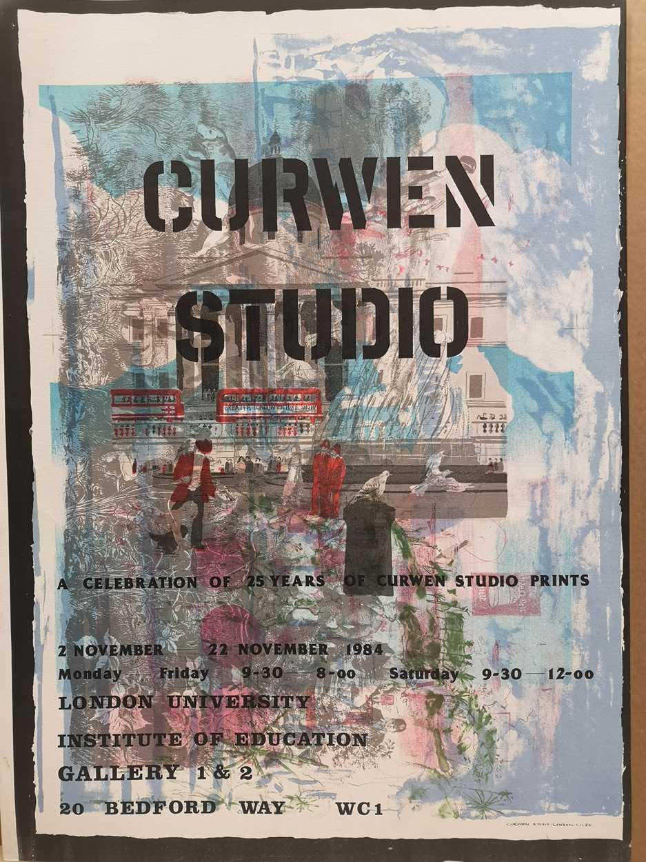 Lot 27 - Curwen Studios: a celebration of 25 years of Curwen Studio prints