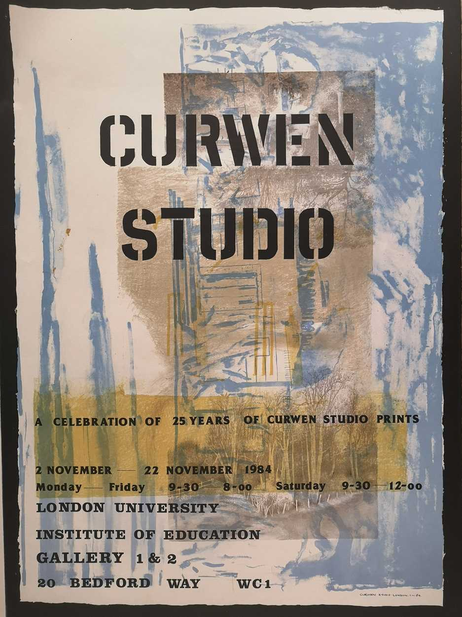 Lot 26 - Curwen Studio: A Celebration of 25 years of Curwen Studio Prints