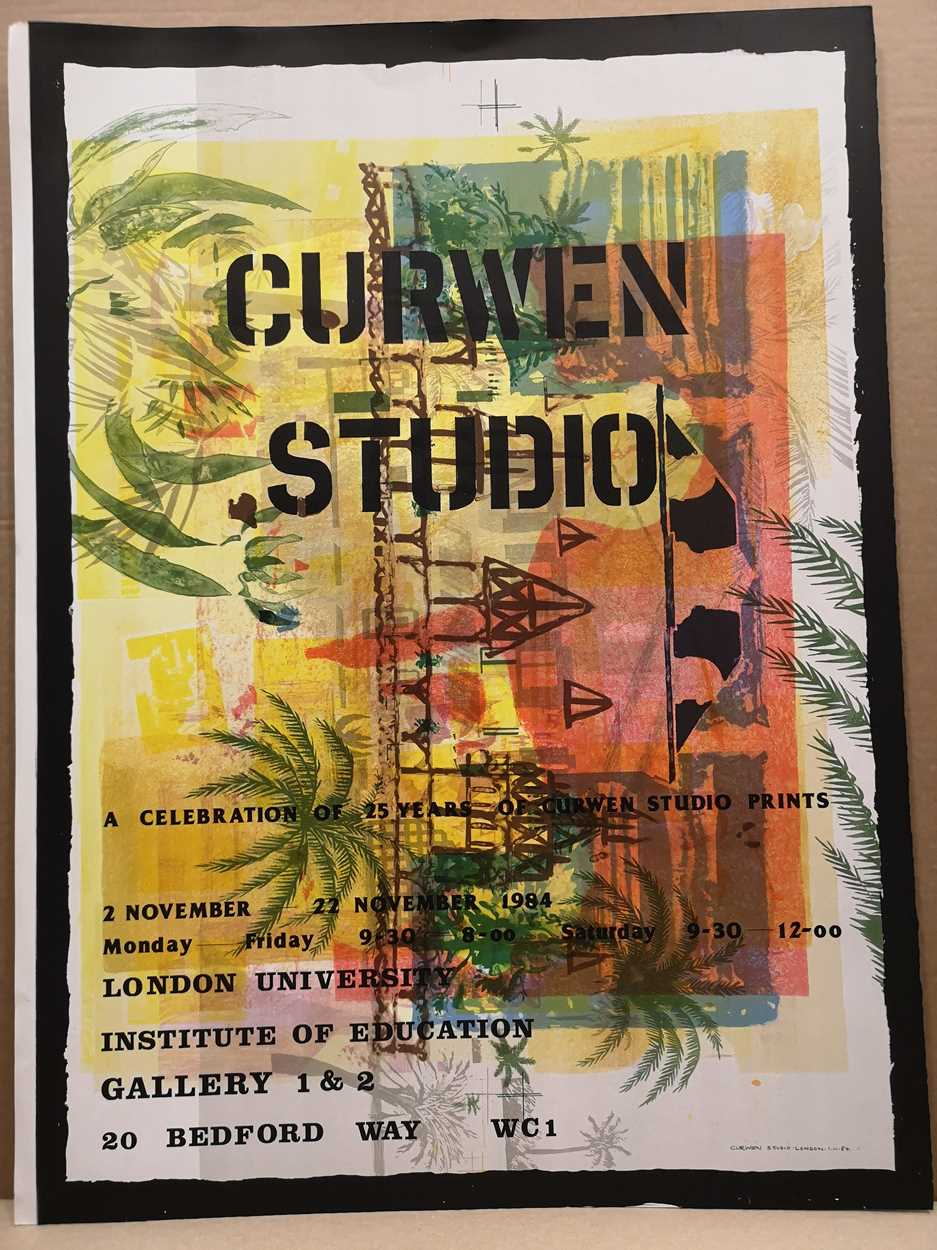 Lot 28 - Curwen Studios: a celebration of 25 years of Curwen Studio prints