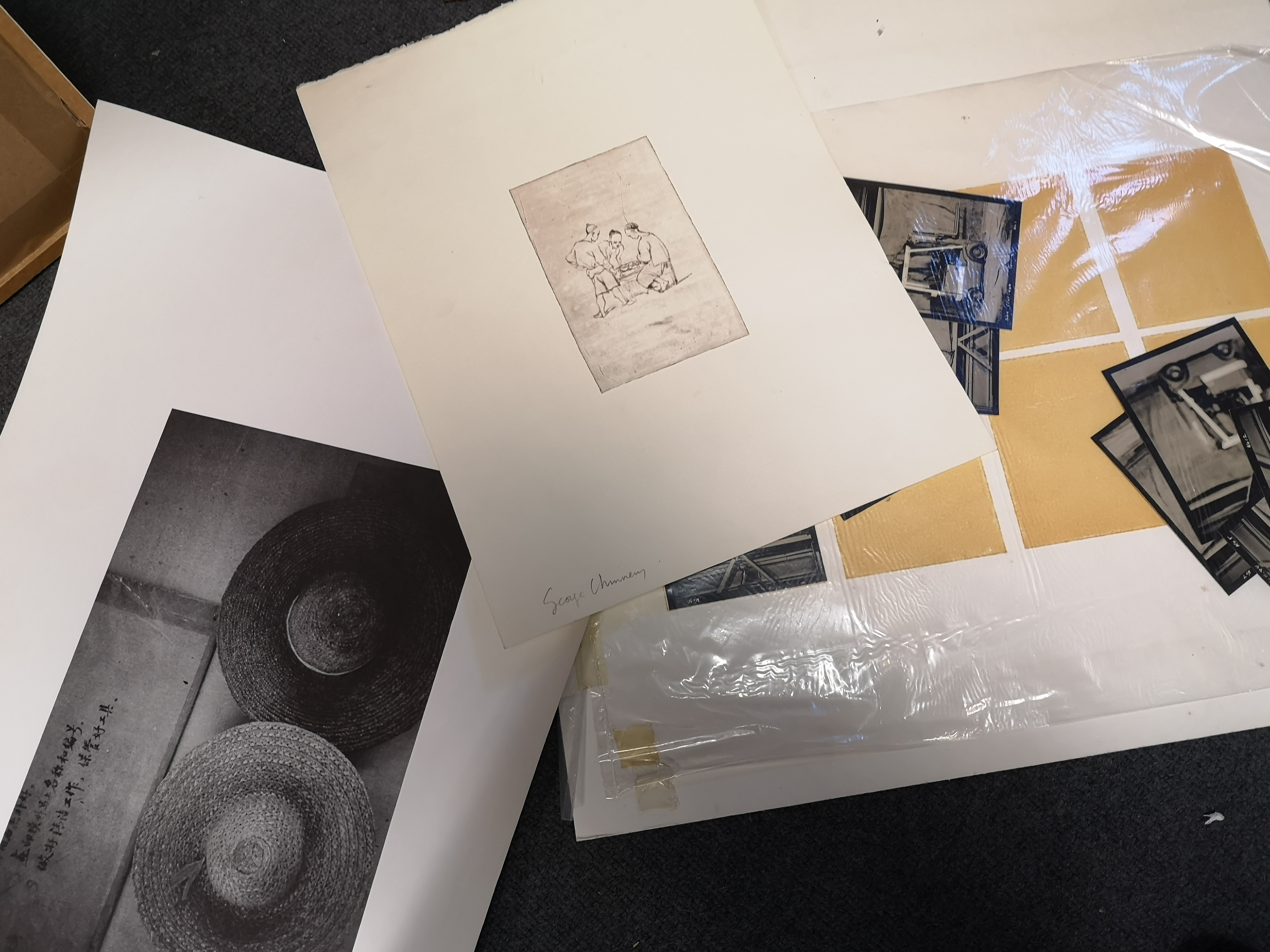 Lot 57 - Archival works relating to the Curwen Studio, to include: