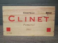 Chateau Clinet, Pomerol 2011, 6 bottles