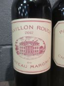Pavillon Rouge, Margaux 2012, 3 bottles