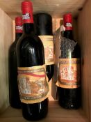 Ch Ducru-Beaucaillou, St Julien 2eme Cru 1984, 4 bottles (2 lacking labels); Chateau Cantemerle,