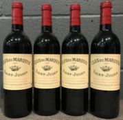 Clos du Marquis, St Julien 1997, 4 bottlesCondition report: removed from storage at the Wine