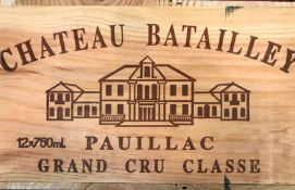Chateau Batailley, Paulliac 5eme Cru 1999, 12 bottlesCondition report: removed from storage at the