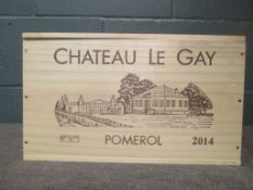 Chateau Le Gay, Pomerol 2014, 6 bottles