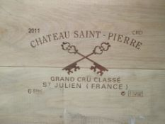 Chateau St Pierre, St Julien 2011, 12 bottles
