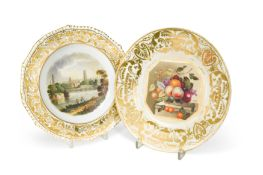 A Derby cabinet plate,