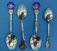 Local Interest; A cased silver Commemorative Preserve Spoon, by Goldsmiths and Silversmiths Co.,