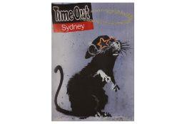 Banksy (British, b.1974) 'Time Out Sydney'