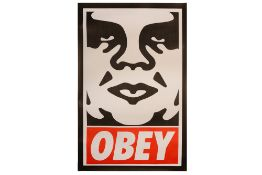 Shepard Fairey (American, b.1970) 'Icon Poster - 2003 Edition'