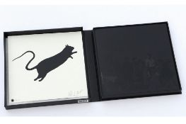 Blek le Rat (French, b.1952) 'Getting through Walls: Book & Print Special Edition'