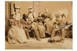 Mr Brainwash (French, b.1966) 'Star Wars Family'