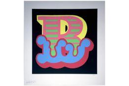 "Ben Eine (British, b.1970) 'Full Set of three ""B"" Circus Letters'"