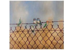 Sage Vaughn (American, b. 1976) 'Seville Hummingbirds'