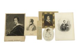 A COLLECTION OF BYRONIC PRINTS