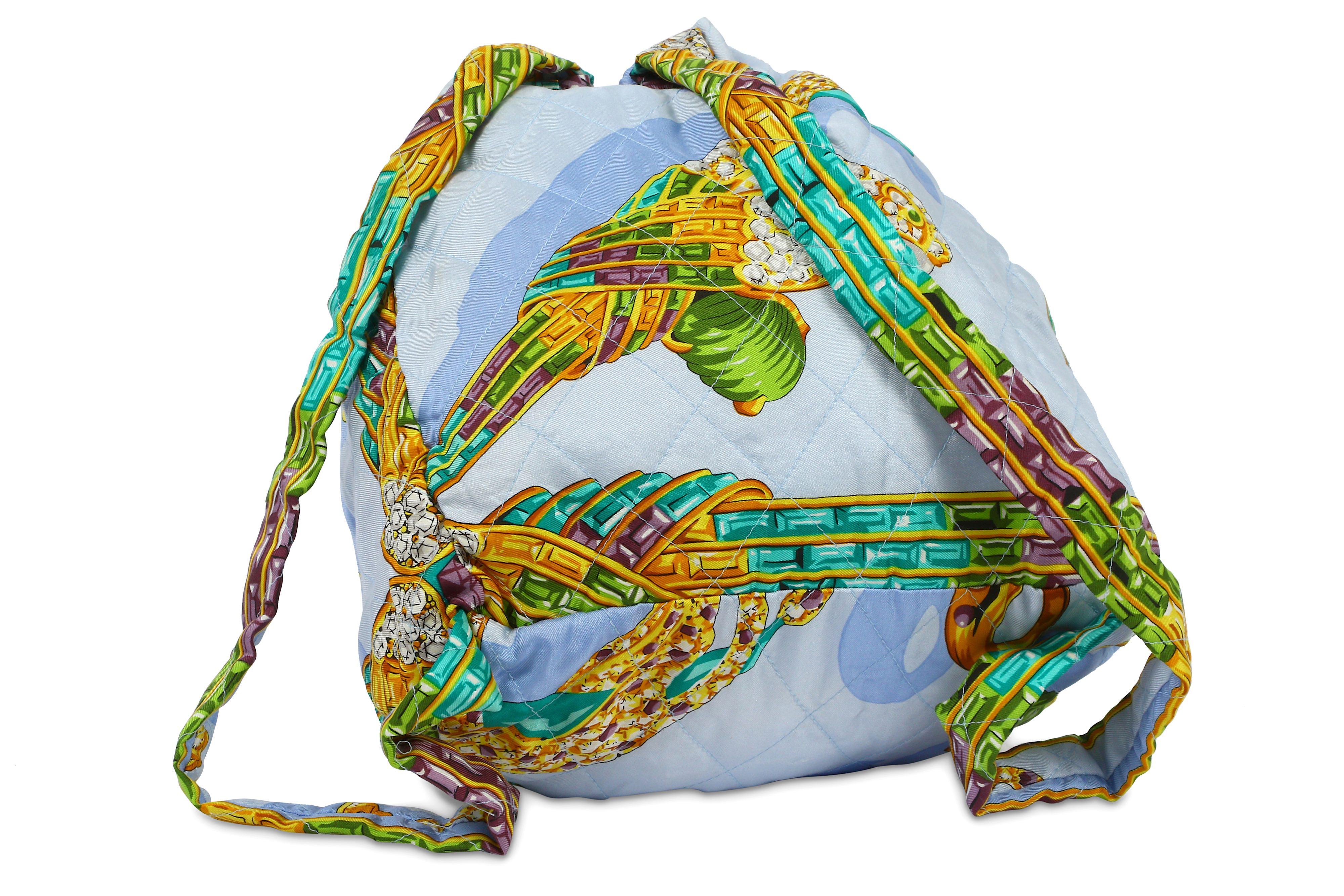 Lot 75 - Must de Cartier Silk Backpack