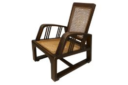 UNKNOWN: An Arts and Crafts chair, early 20th Century,