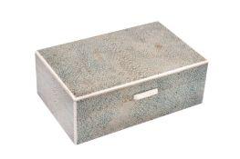 Unknown - An Art Deco shagreen box