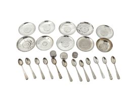mixed group of 20th century Iraqi silver