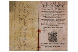 Gemmology. - Academico Ardente Etereo [Arnobio, Cleandro, pseud.:]