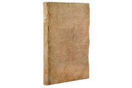 Law Manuscript.- Ranucci (Pietro)