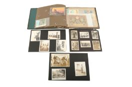 A COLLECTION OF SNAPSHOTS FROM THE MIDDLE EAST, INCLUDING A SOUVENIR ALBUM