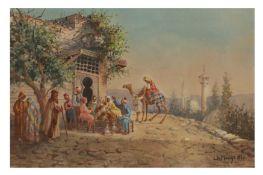 LEONARDO DE MANGO (ITALIAN 1843 - 1930)