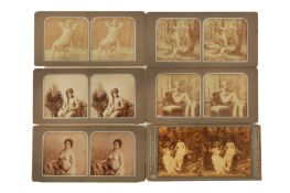 A Selection of Erotic Stereocards