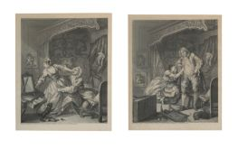 Hogarth (William, after) Before and After