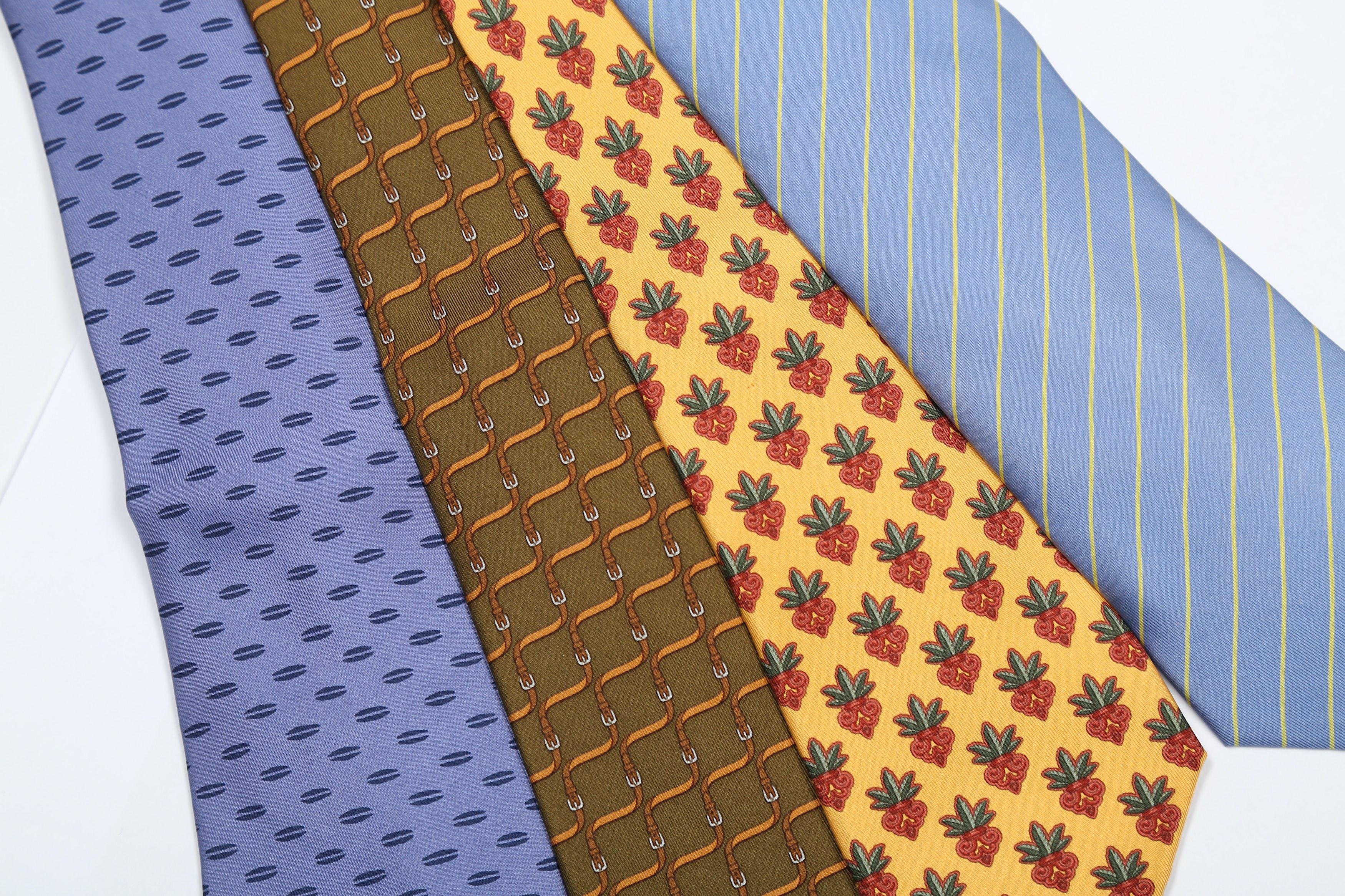 Hermes Silk Ties - Image 2 of 3