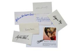Autograph Collection.- Actresses