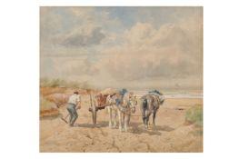 RICHARD BEAVIS R.W.S (BRITISH 1824 - 1896)