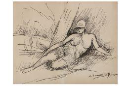 § ANDRE DUNOYER DE SEGONZAC (FRENCH 1884 - 1974)