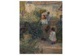 DOROTHEA SHARP ROI RBA (BRITISH 1874 -1955)