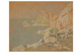 WILLIAM DEGOUVE DE NUNQUES (BELGIAN 1867 - 1935)