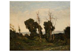 HENRI-JOSEPH HARPIGNIES (FRENCH 1819 - 1916)
