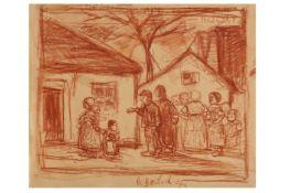 JAKOB SMITS (FLEMISH 1855 - 1928)