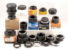 A Selection of Nex & Other Lens Mount Adapters.