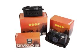 A Nimslo 3D 35mm Camera