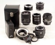 Group of Nikon Macro Equipment