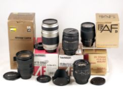 Group of Boxed Nikkor & Nikon Fit AF Lenses.