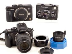 Panasonic Lumix G & GX1 Compact Digital Cameras etc