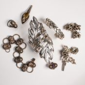 A group of silver jewelry, incl. Mexican, German